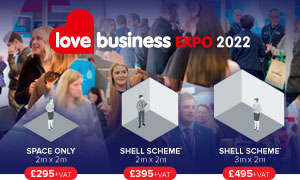 Thumbnail image for Book your stand for Love Business 2022