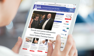 Thumbnail image for How Leicestershire Law Society's website is upping its visitor figures