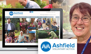 Thumbnail image for Increasing the visibility of Ashfield Voluntary Action