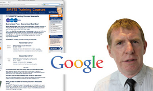 Thumbnail image for Construction Safety Training Course Website Tops Google and generates lower cost enquiries